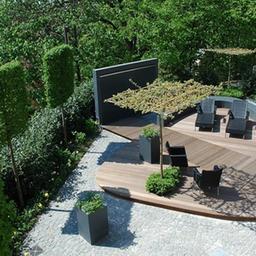Moderne g rten herny klammer garten und landschaftsbau for Gartengestaltung grillplatz